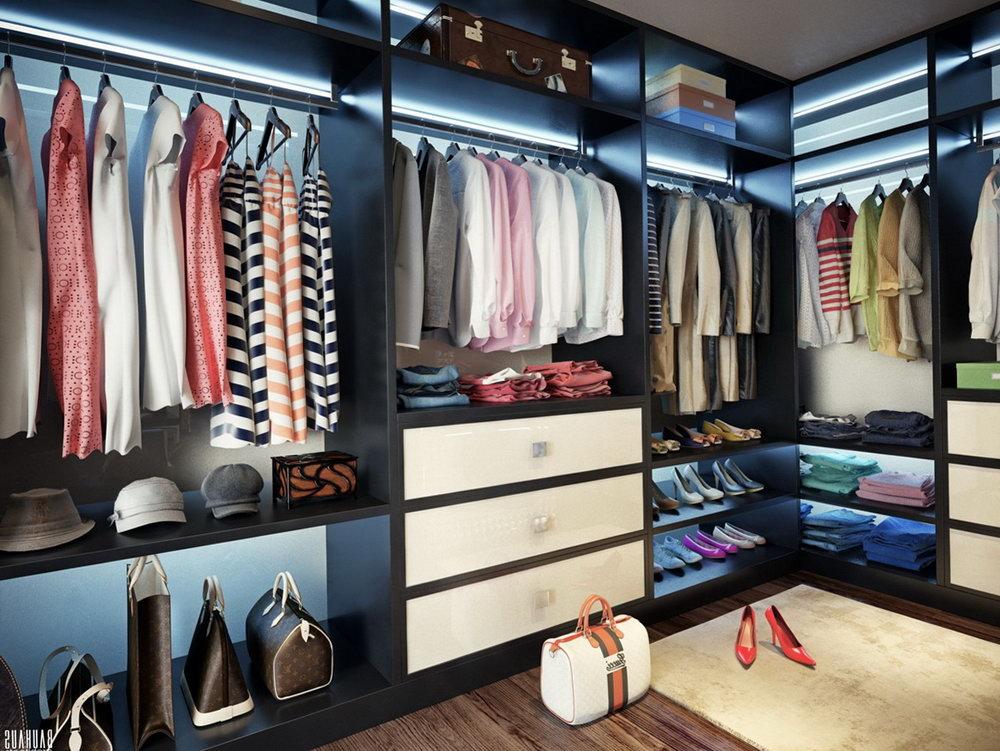 Walk in closet design for women  Hawk Haven