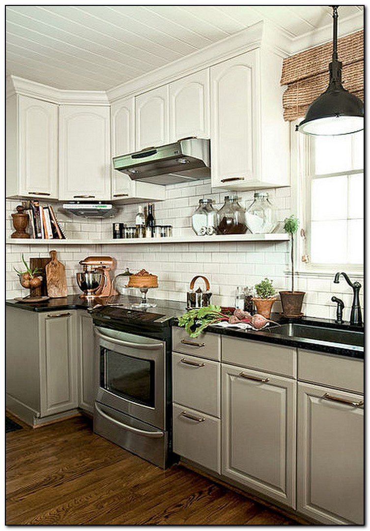 White kitchen cabinets from lowes  Hawk Haven