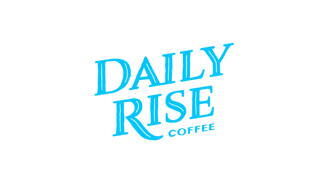 Daily Rise Wordmark Stacked