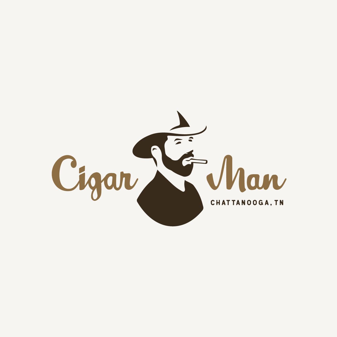 Cigar Man Logo – Main