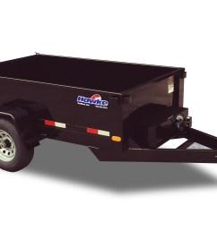 trailers hawke deckover dump trailers power tilt trailers [ 4646 x 2297 Pixel ]