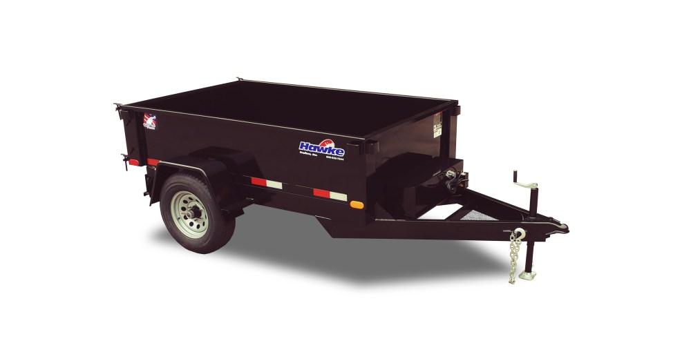 medium resolution of trailers hawke deckover dump trailers power tilt trailers