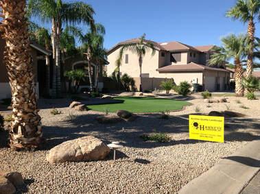 hawkeye custom landscaping - home