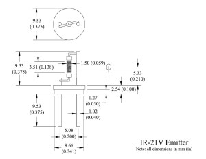 IR2X Series Supported Filament Steady State IR source