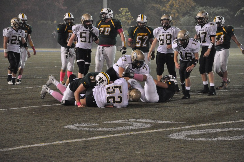 wrhs and hchs tackle pile