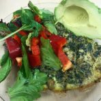 spinach fritatta