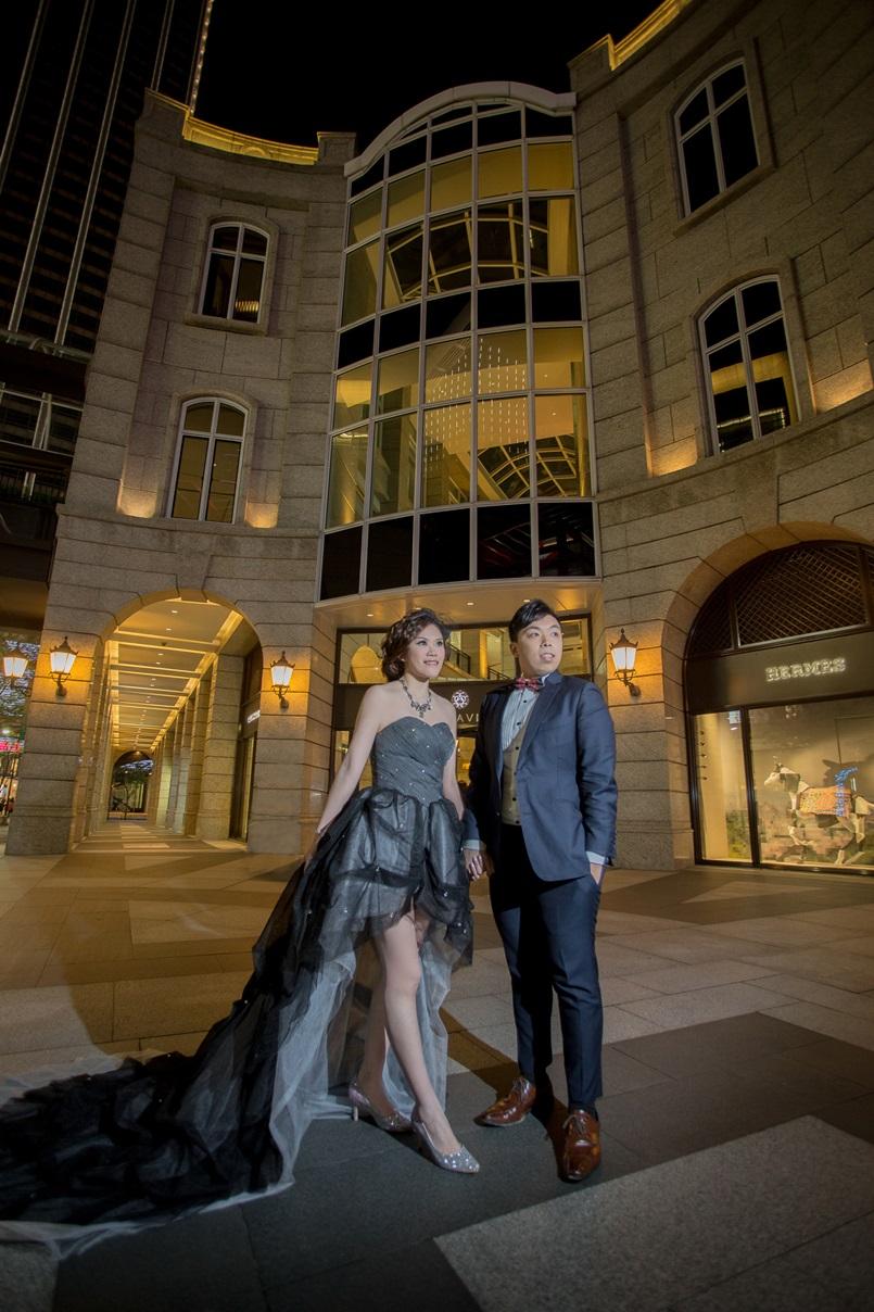 夜拍婚紗-台北婚攝Hawk
