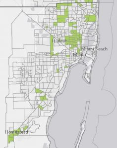 Miami Zoning Map : miami, zoning, Interactive, Locate, Miami-Dade's, Opportunity, Zones, Hawkins, Commercial, Realty