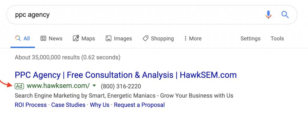HawkSEM - PPC marketing