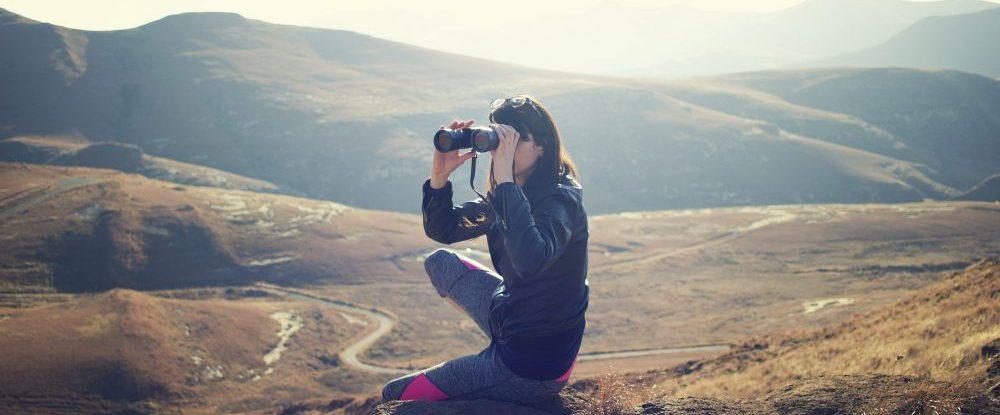 hawksem - woman on mountaintop