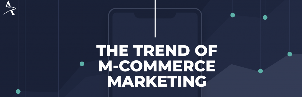 hawksem m-commerce infographic - the trend of m-commerce marketing