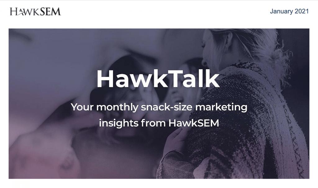 HawkSEM newsletter