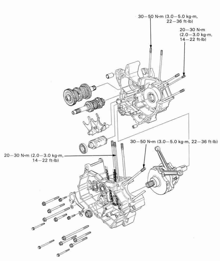 Honda NT650 service manual, section 11,