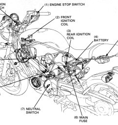 honda nt650 service manual section 16 ignition system honda motorcycle spark plugs tester honda circuit diagrams [ 2041 x 1467 Pixel ]