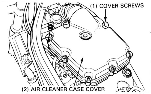 Honda NT650 service manual, section 3, Maintenance