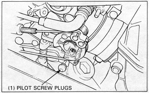 Honda NT650 service manual, section 4, Fuel system