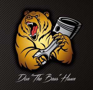 "Don ""The Bear"" Hawn Logo"