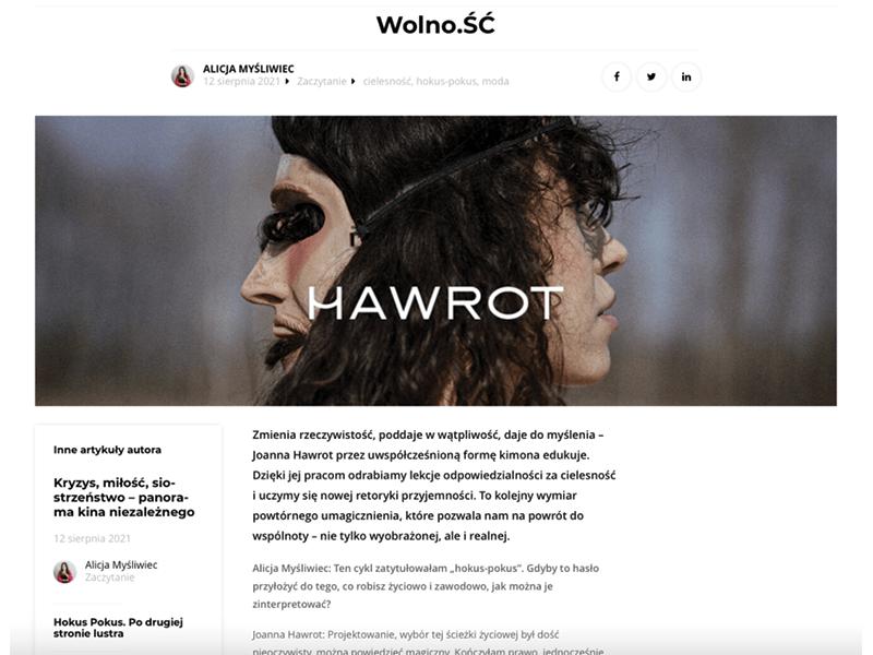 HAWROT x Liberté!