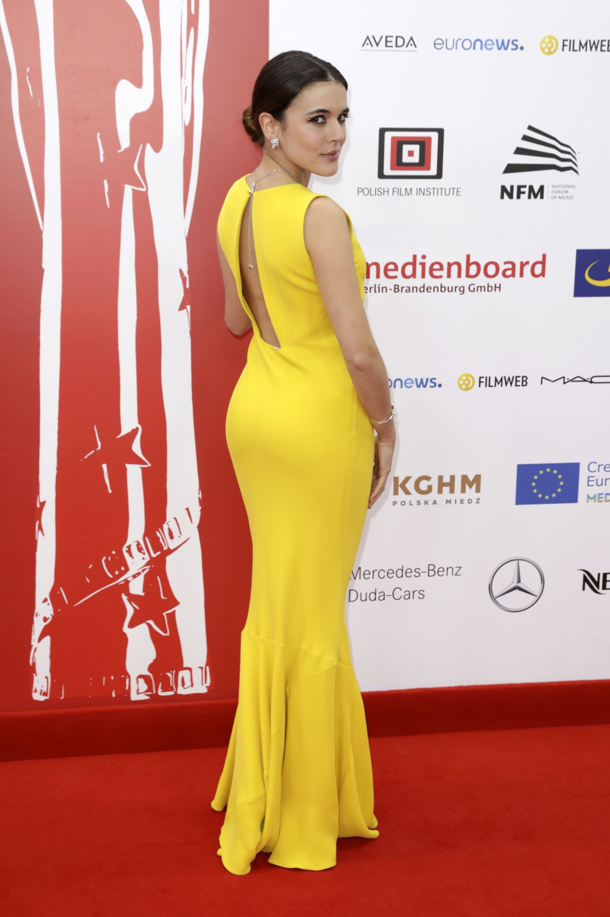 ADRIANA UGARTE at 29th European Film Awards in Wroclaw 12/10/2016