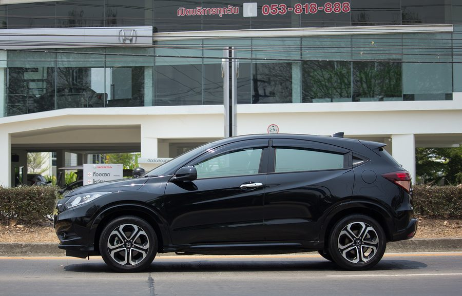 Los Angeles buy here pay here dealership - Private Car Honda HRV City Suv Car.