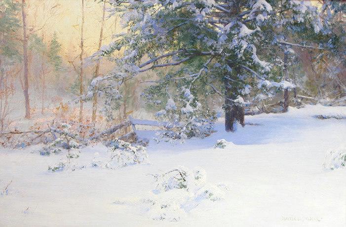 Winter Scenes For The Winter Solstice Hawthorne Fine Art