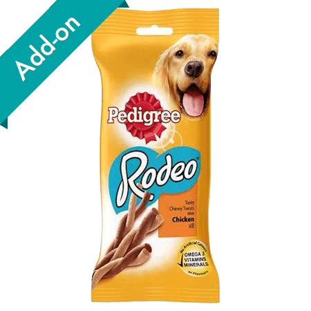 Pedigree Rodeo Treats 8 pack chicken