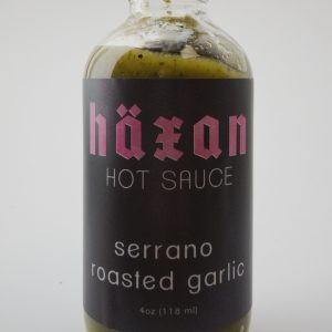 Serrano Roasted Garlic Hot Sauce