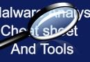 Malware Analysis Cheats And Tools list