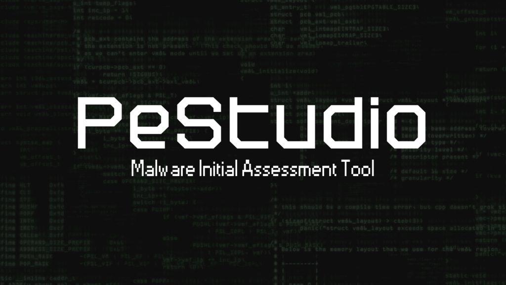 PeStudio - Malware Initial Assessment Tool