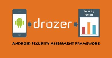 Drozer – Android Security Assessment Framework