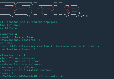 XSStrike – Advanced XSS Detection and Exploitation Suite
