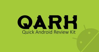 QARK – Quick Android Review Kit