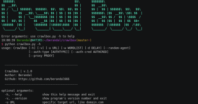 CrawlBox – Easy Way to Brute-force Web Directory