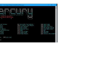 Mercury – Multiple Hacking Tools collection