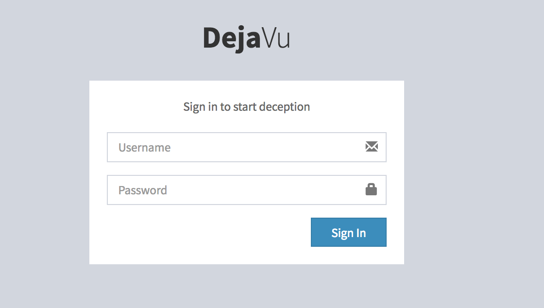 DejaVU - Open Source Deception Framework