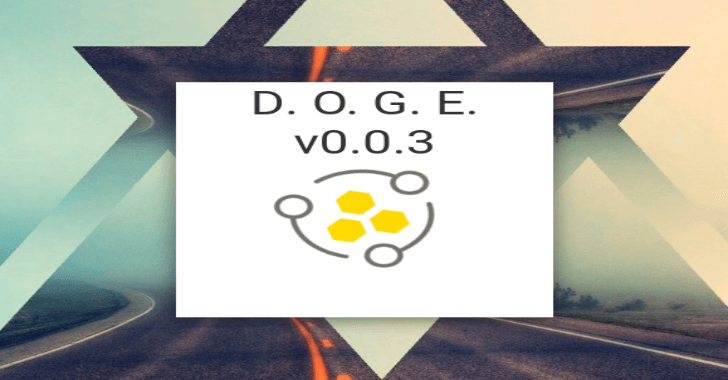 DOGE - Darknet Osint Graph Explorer