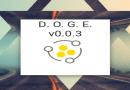 DOGE – Darknet Osint Graph Explorer