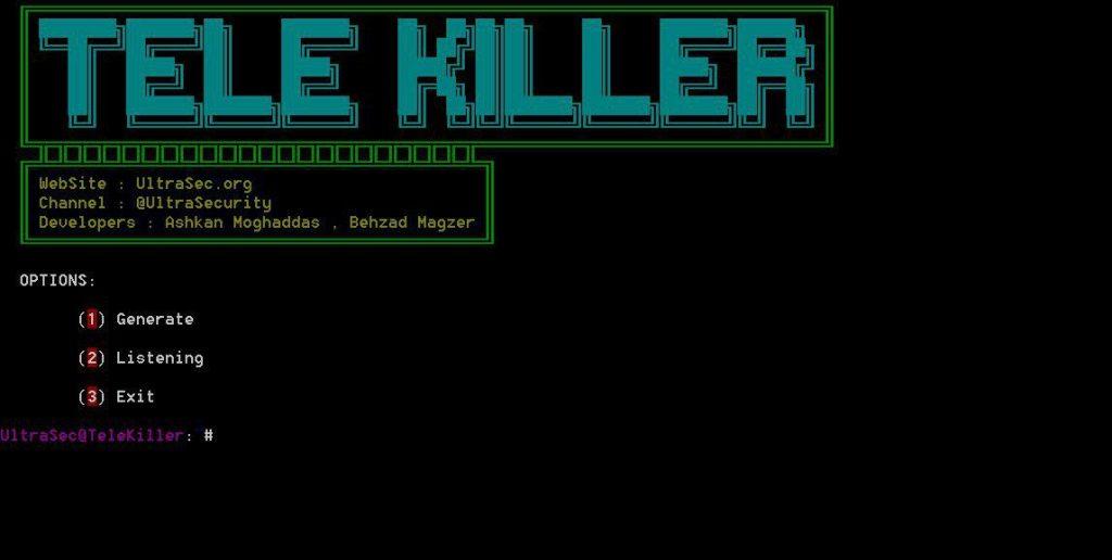 TeleKiller - A Tools Session Hijacking And Stealer Local Passcode Telegram Windows