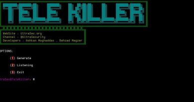 TeleKiller – A Tools Session Hijacking And Stealer Local Passcode Telegram Windows