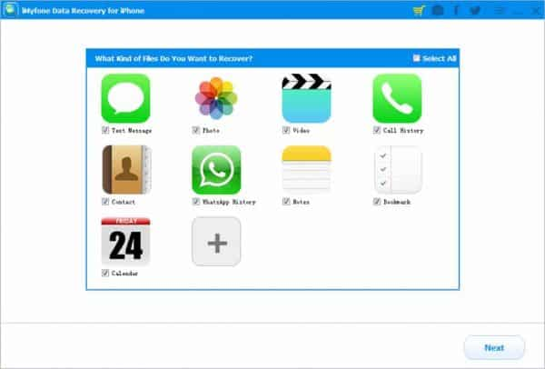 iMyfone D-Back iPhone Data Recovery 6.6.0.12 Crack Full Version