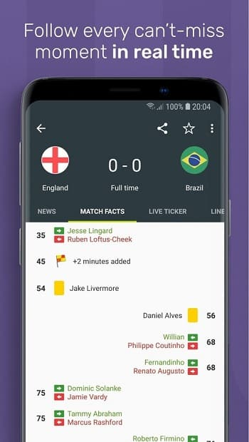 FotMob Pro World Cup 2018 V76.0.4962 Cracked APK [Paid Version]