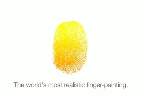Finger painting 20131203