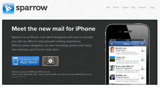 Sparrow for iphone 20121106