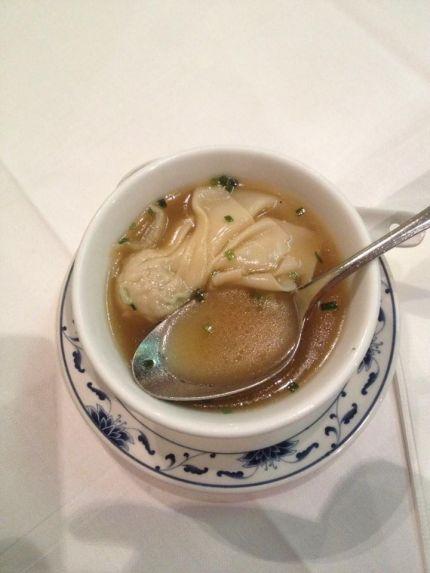 Ho Lin Wah erişte çorbası.