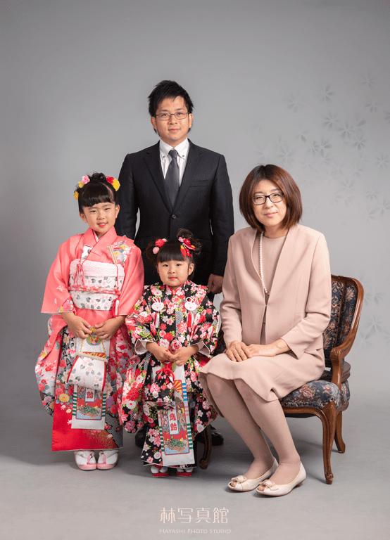 家族写真|七五三|女の子