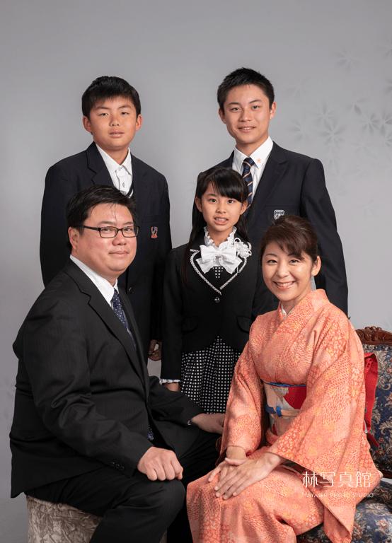 ご入学記念写真 | 家族