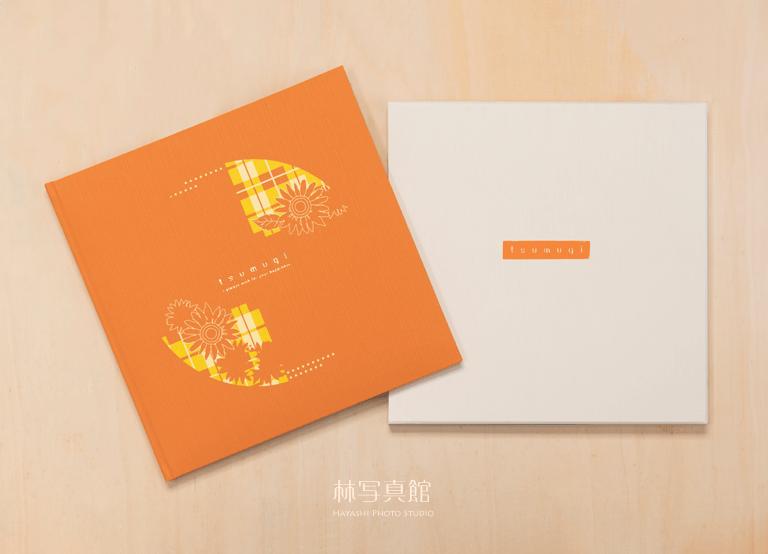 ご卒業記念写真   橙台紙