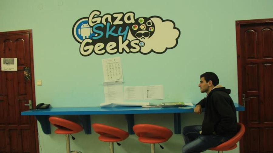 Gaza start-ups aim to break the siege