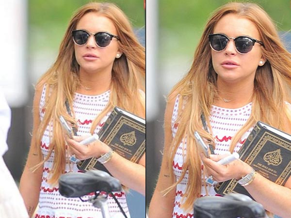 IS LINDSAY LOHAN BECOMING A MUSLIM?