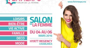Femmexpo – Forum de la Femme du vendredi 04 au dimanche 06 mars 2016